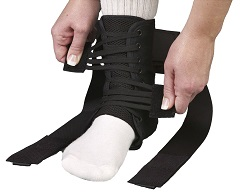 ASO Speed Lacer Ankle Stabilizer (Black)